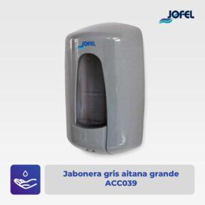 Jabonera gris aitana grande Jofel