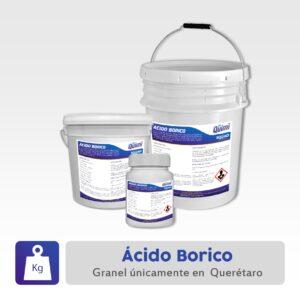 ácido bórico