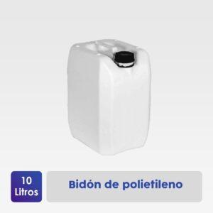 bidón polietileno 10 litros