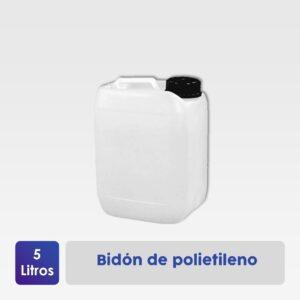 bidón polietileno 5 litros