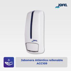 Jabonera Atlántica rellenable