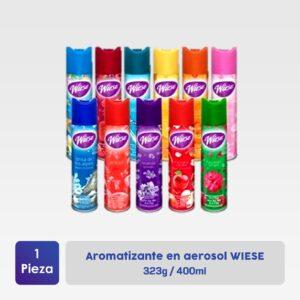 Aromatizante en aerosol WIESE 400ml