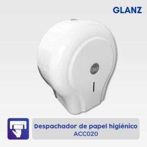 Despachador de papel higiénico Glanz